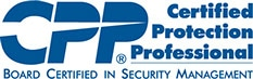 Certifications CPP Certified Protection Professional (ASIS) logo