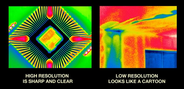 Infrared Resolution Comparison
