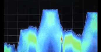 TSCM technology Tektronix RSA Signal Behind a Signal