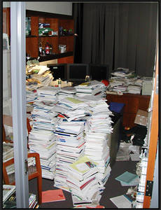 Confidential Paperwork Messy office 2