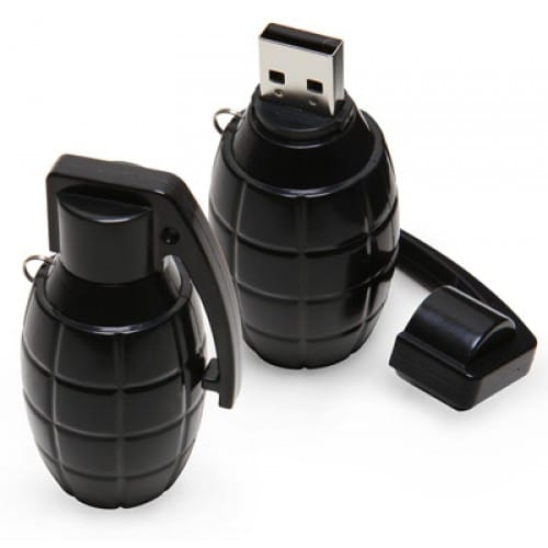 USB Memory Security - Hand Grenade