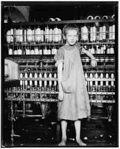 Business Espionage - Girl At Thread Loom