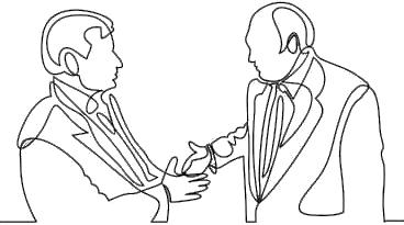TSCM Inspection - Shaking Hands