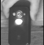 laser beam eavesdropping cell phone 60m