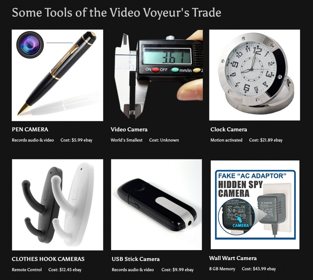 VIDEO VOYEUR SPYCAM TOOLS