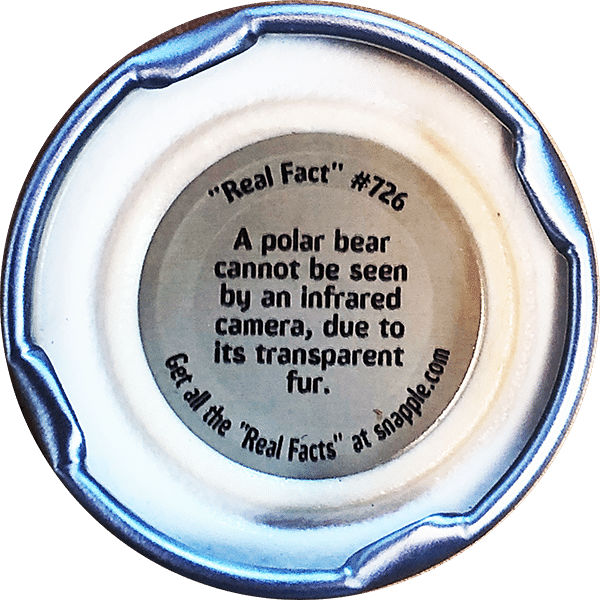 Real TSCM Facts v Polar Bear Fur