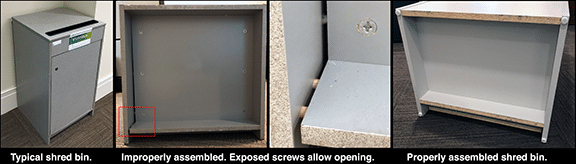 Typical Shred Bin Security Misassembly 72dpi