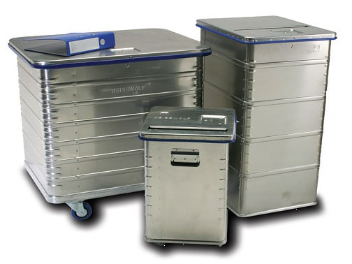reisswolf shred bin security containers
