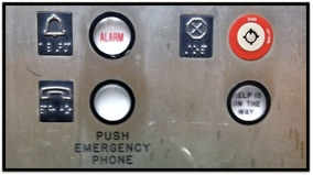 Off-Site Meeting Security Elevator Panel