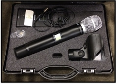 Off-Site Meeting Security FM Microphone