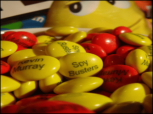 Spybusters M&Ms