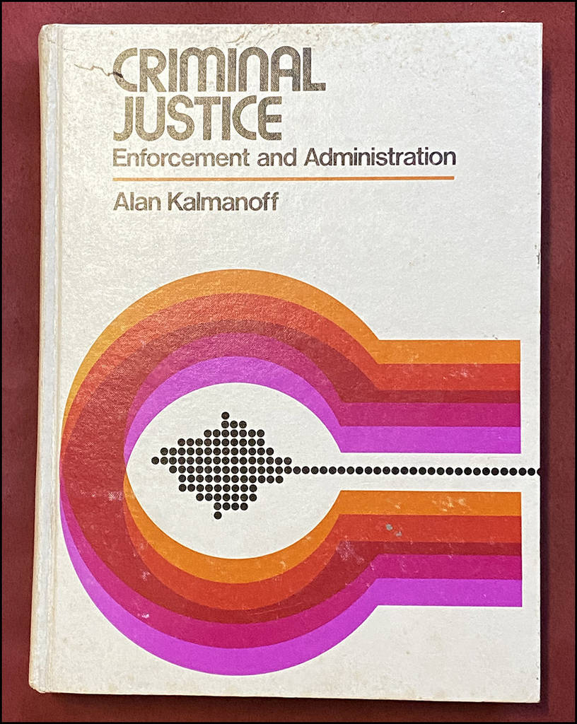 Criminal Justice Book Logo