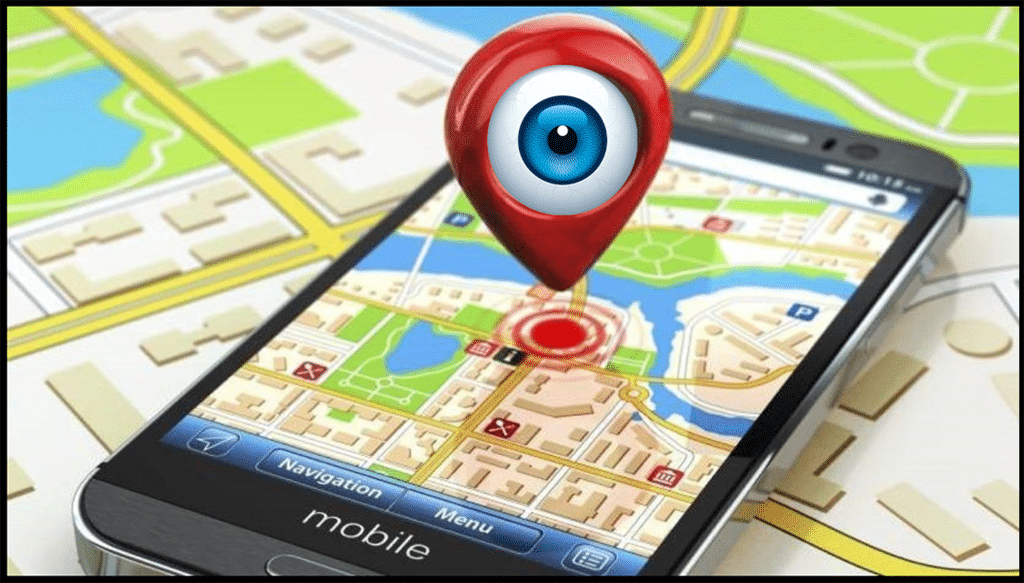 GPS Tracking Map Eye