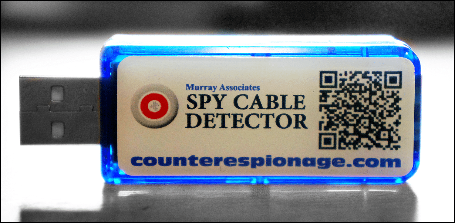 USB Spy Cable Detector