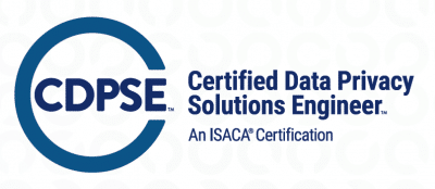 Certified Data Privacy Solutions Engineer CDPSE ISACA Logo