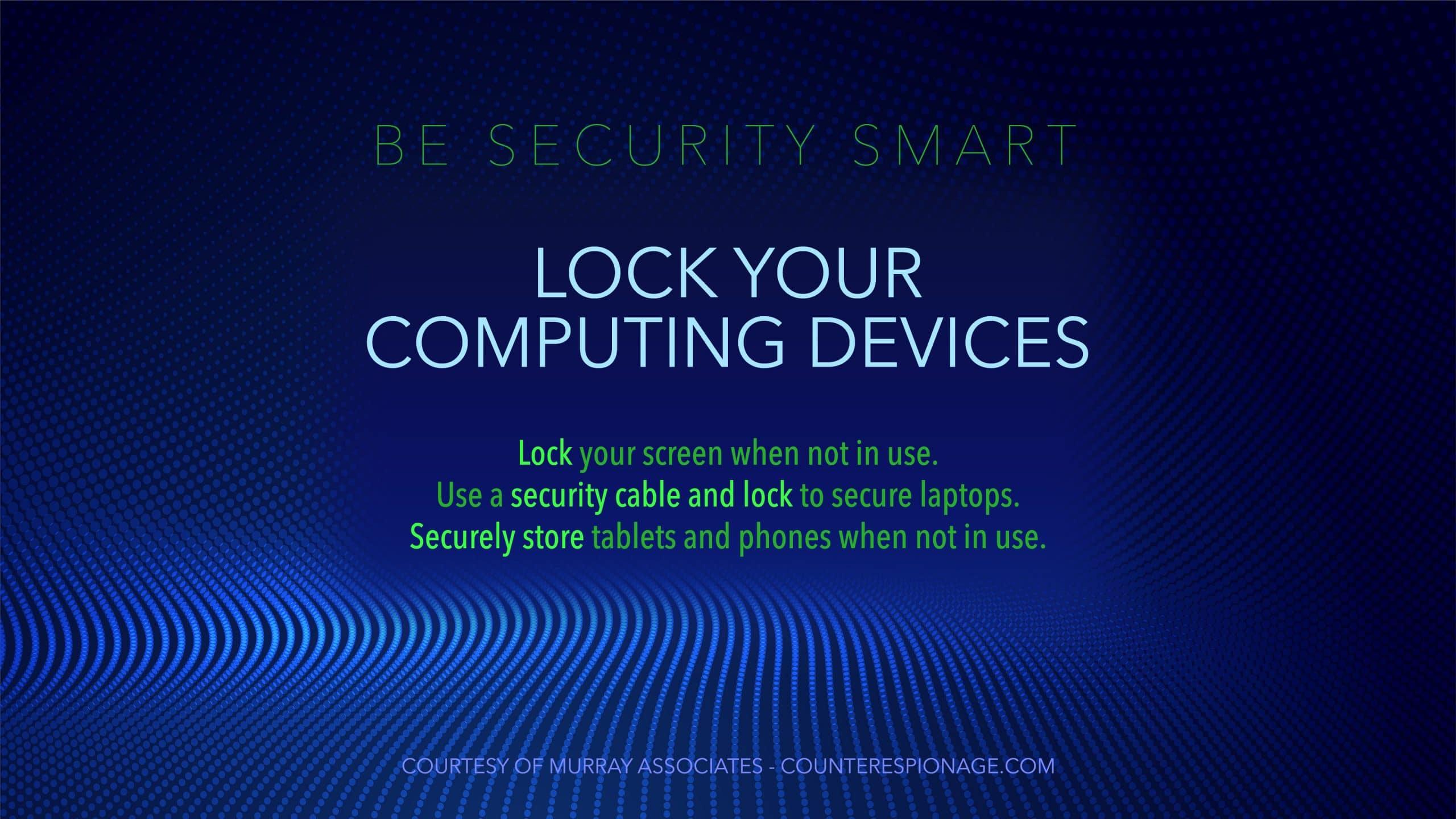 Security Screen Saver 1-3