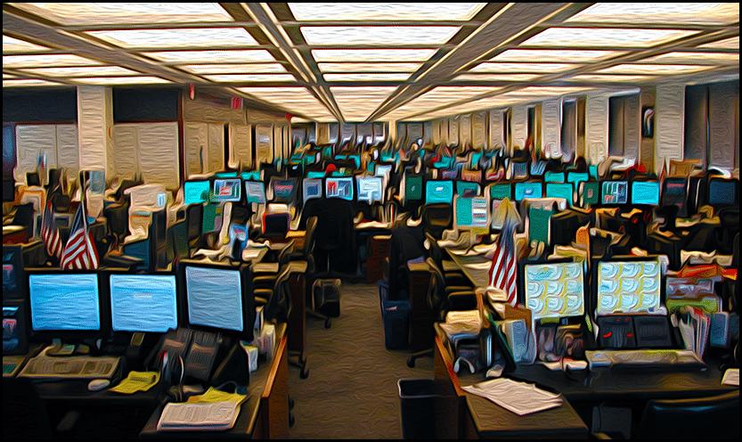 Large Office Scene
