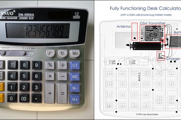 X-ray Calculator GSM Bug w text