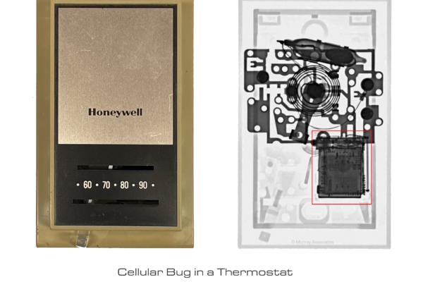 X-ray Comparison Bug in Thermostat
