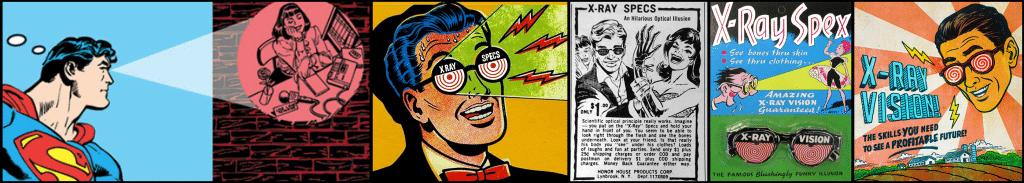 X-ray Specs Ads