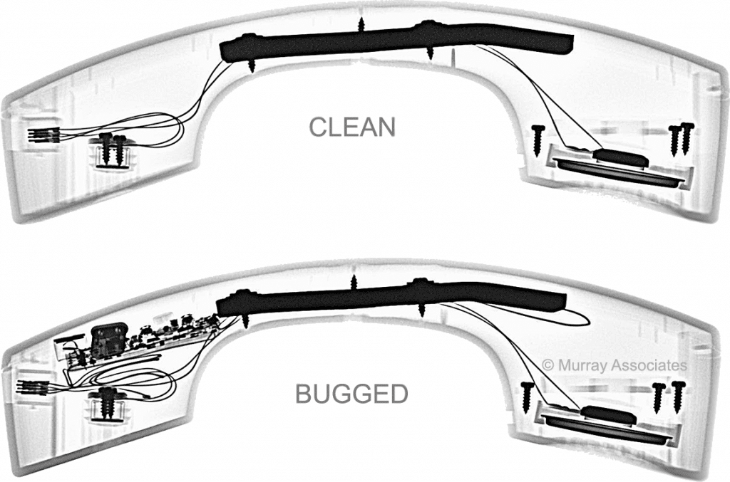 X-ray Handset Side Clean-Bugged