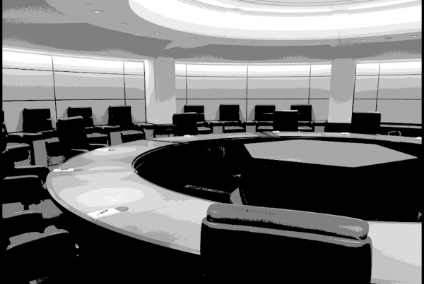 A boardroom is an example of the benefits of TSCM inspections.