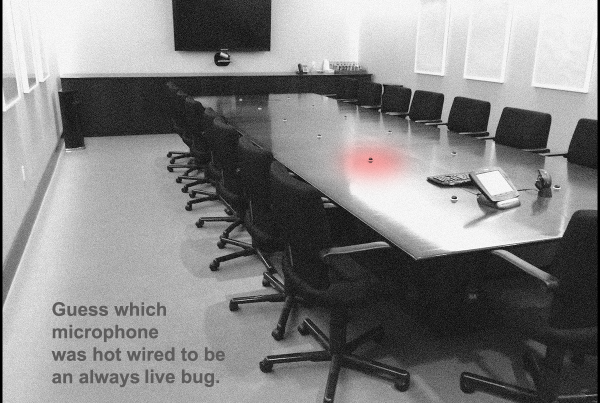 How Can You Tell if You, or a Room, is Bugged? A professional TSCM inspection is required