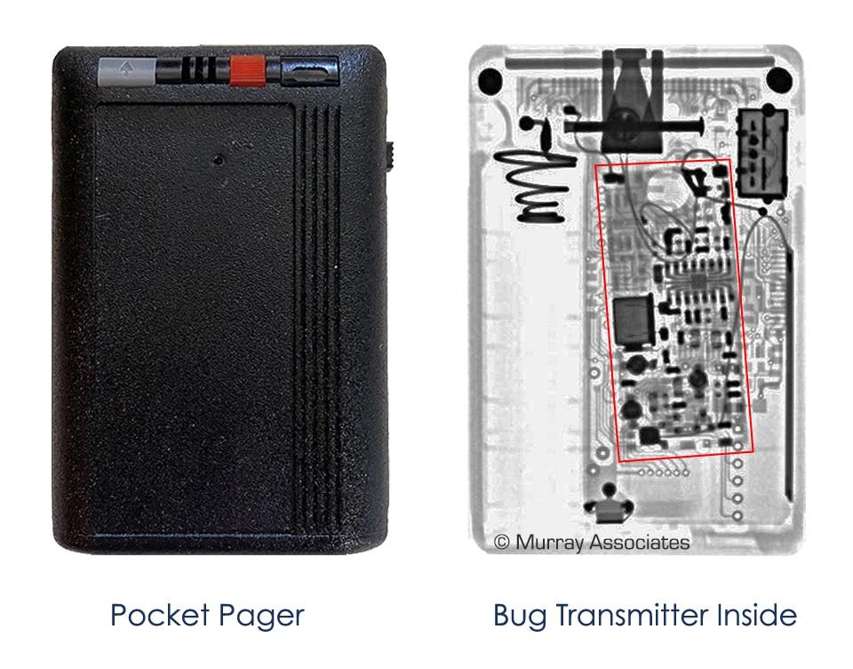 Bugged Motorola Pager